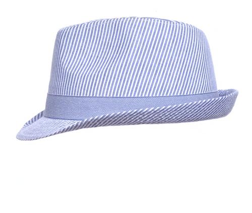 Fedora Hat Chambray