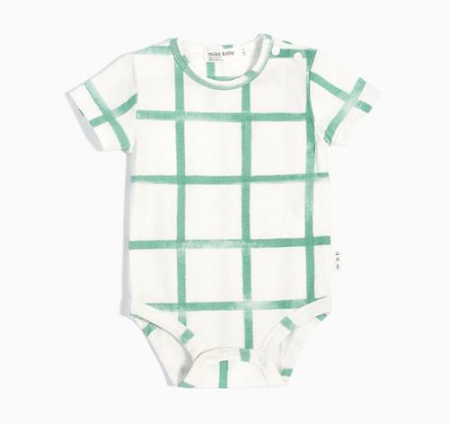 Diaper Shirt Cream/Green