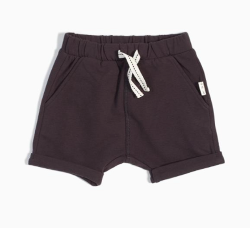 Knit Shorts Dark Grey
