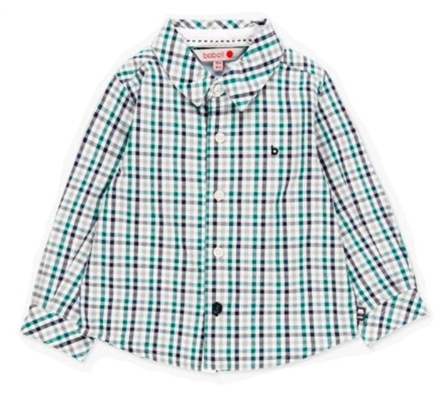 Poplin Check Shirt