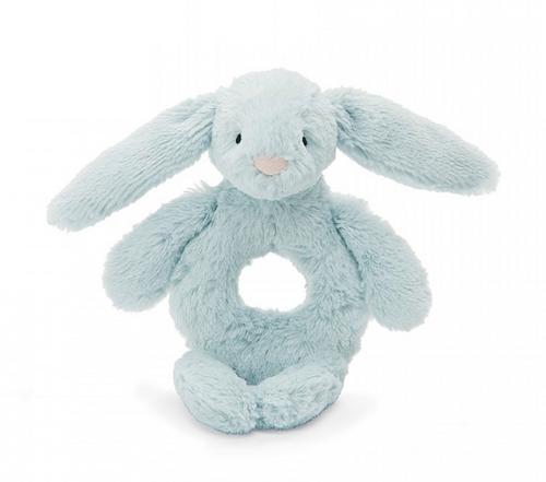 Rattle- Bashful Beau Bunny Ring