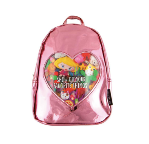 Pink Mirror Backpack