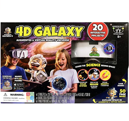 4D Galaxy Augmented & Virtual Reality