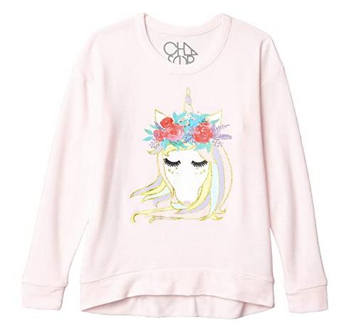 CH L/S Pinky Unicorn