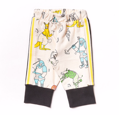 NZ Track Pant Olympic Animals