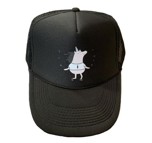 Twinklebolt Hat Black