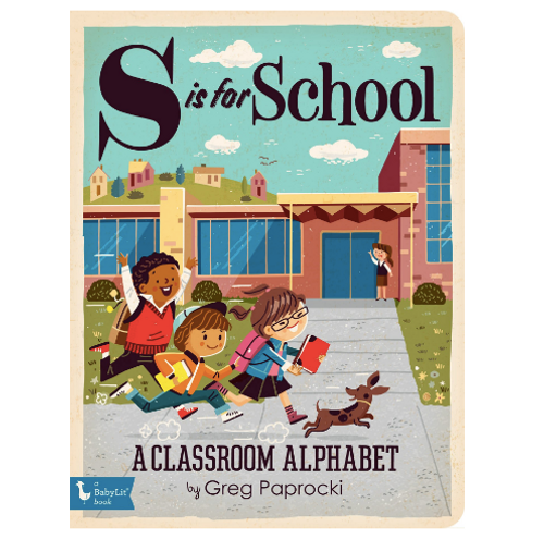 S Is For School (Board Book)