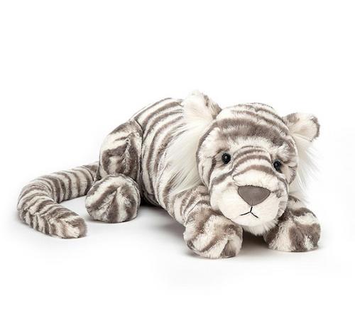 JC Sasha Snow Tiger - Really Big