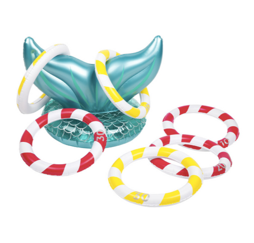 SL Inflatable Ring Toss- Mermaid