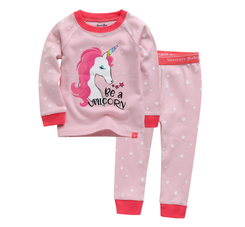 VB PJ Set - Unicorn