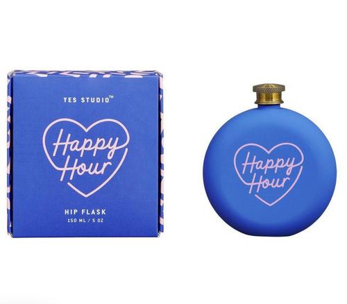 Hip Flask- Happy Hour