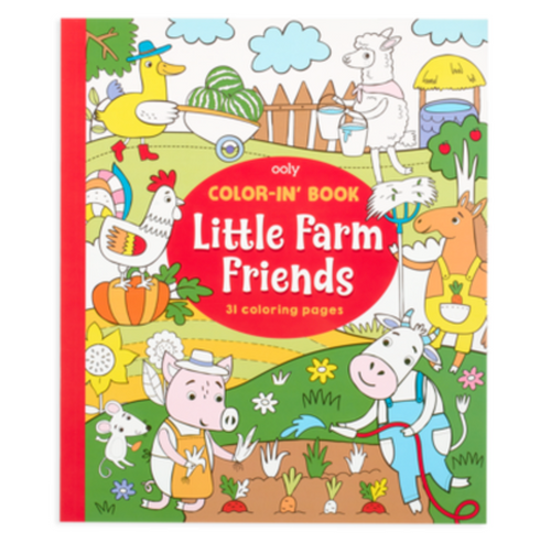 OO Color In Book - Little Farm Animals