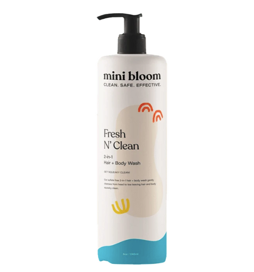 MB Fresh N' Clean 2 in 1 Hair + Body Wash 16oz