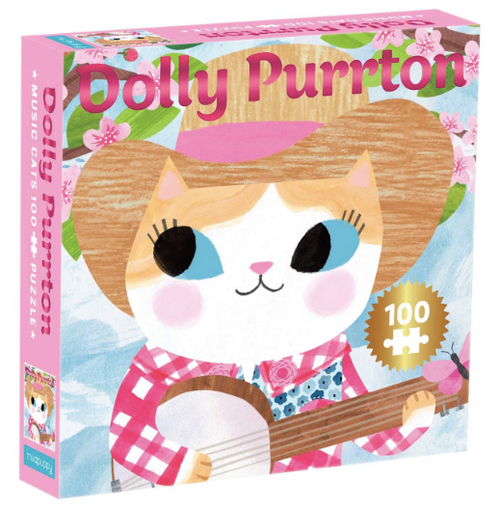 Puzzle - Music Cats - Dolly Purrton