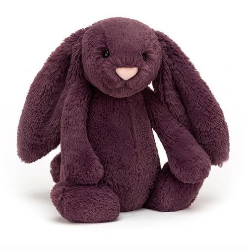 JC Bashful Plum Bunny - Medium