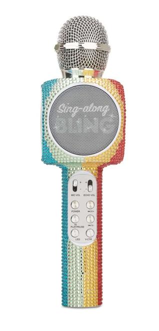Music - Karaoke Mic - Rainbow Bling