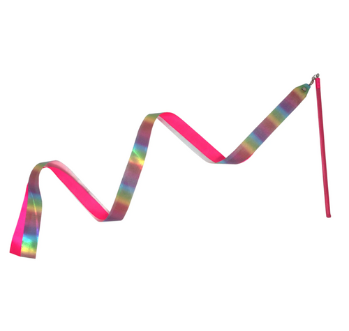 PP Rainbow Dance Ribbon- Pastel