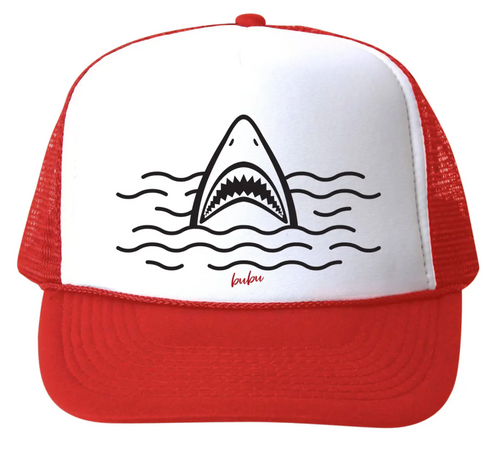 BU Shark Hat Red