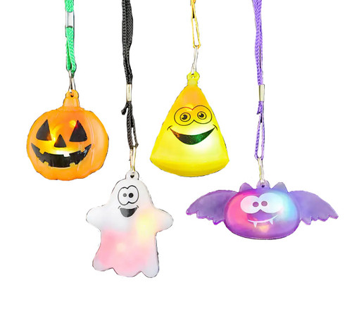 Flashing Halloween Necklace