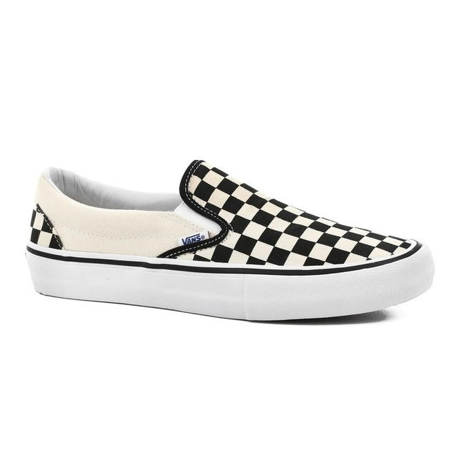 Vans - Slip On - Black/White/Checker