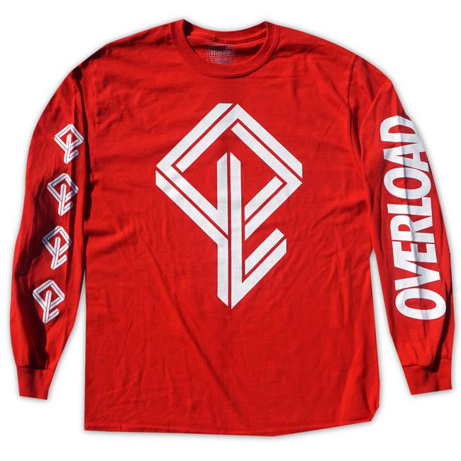 Overload - T-Shirt - BMX Bandit L/S - Red