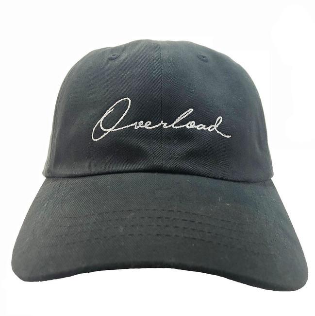 Overload - Hat - Script Unconstructed - Black