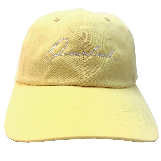 75cddf7e1a3 Overload - Hat - Script Unconstructed - Yellow
