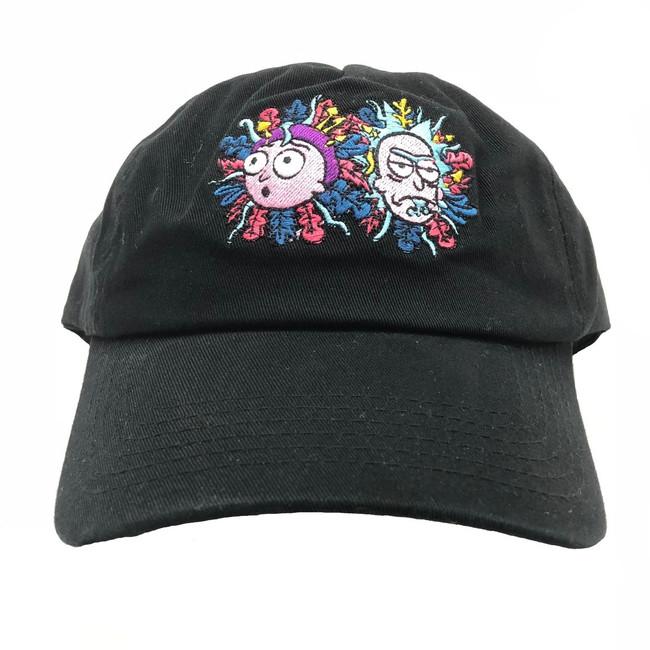 Primitive - Hats - R & M 5 Panel Dad - Black