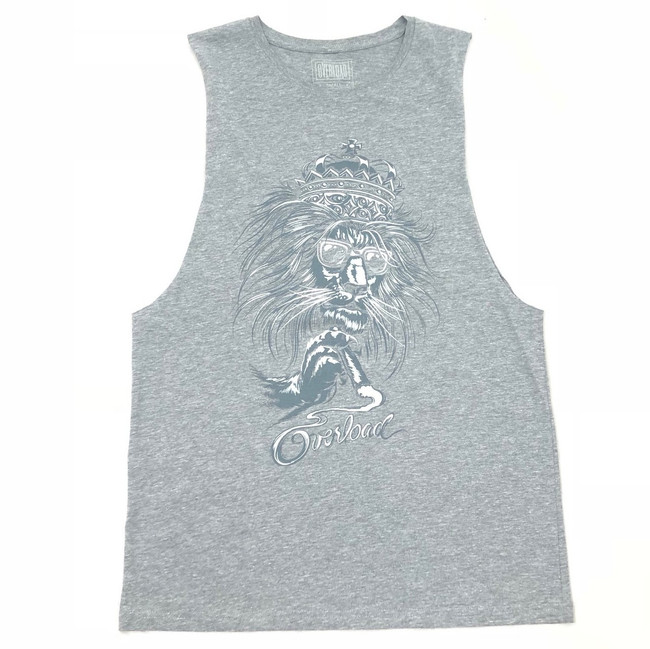 Overload - Tank Top - Lion - Athletic Heather