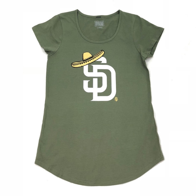 Overload - Women - T-Shirt - Sombrero - Army