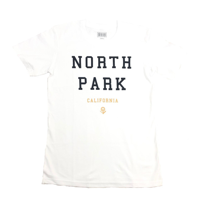 Overload - T-Shirt - North Park - White/Black/Gold