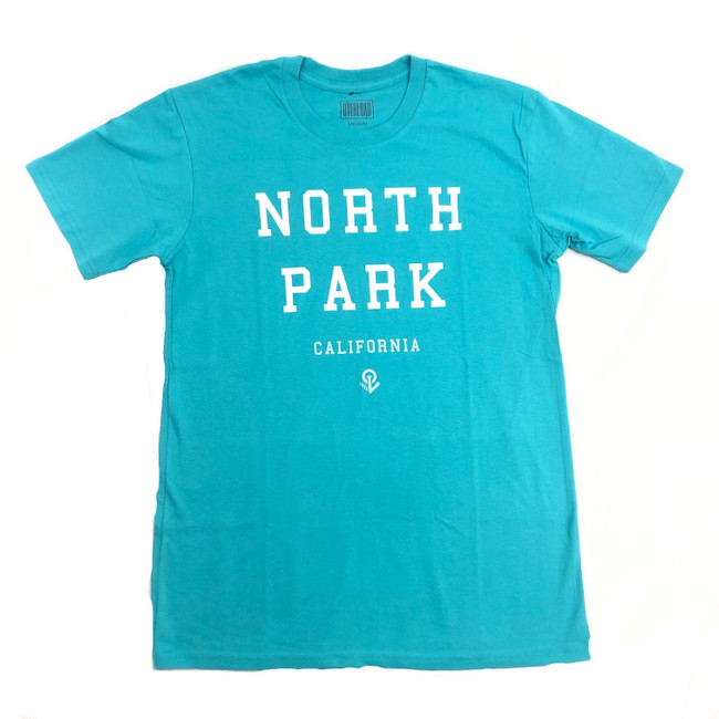 Overload - T-Shirt - North Park - Teal/White/Sliver