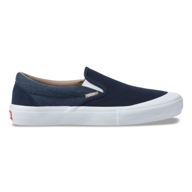 Vans - Slip On Pro - Twill Dress Blue