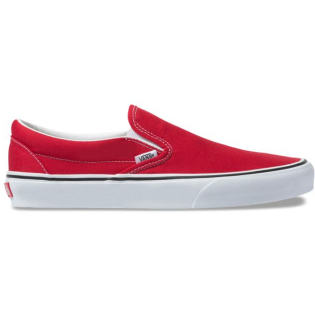 Vans - Slip On - Racing Red