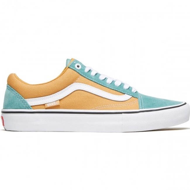 Vans - Old Skool Pro - Oak Buff/Oil Blue