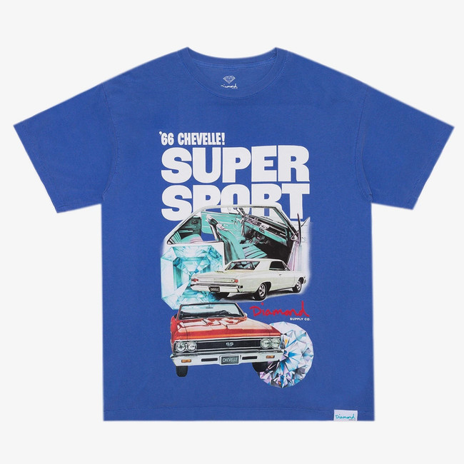 Diamond x Chevelle - T-Shirt - Super Sport - Blue