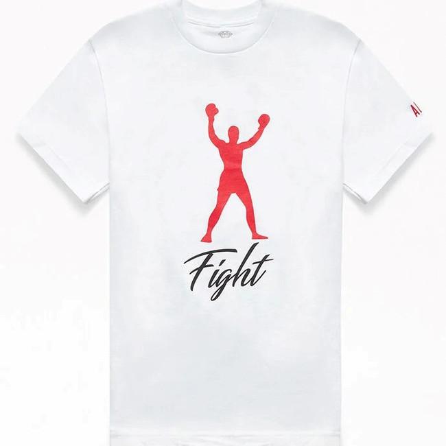Diamond -  Muhammad Ali Fight Tee - White