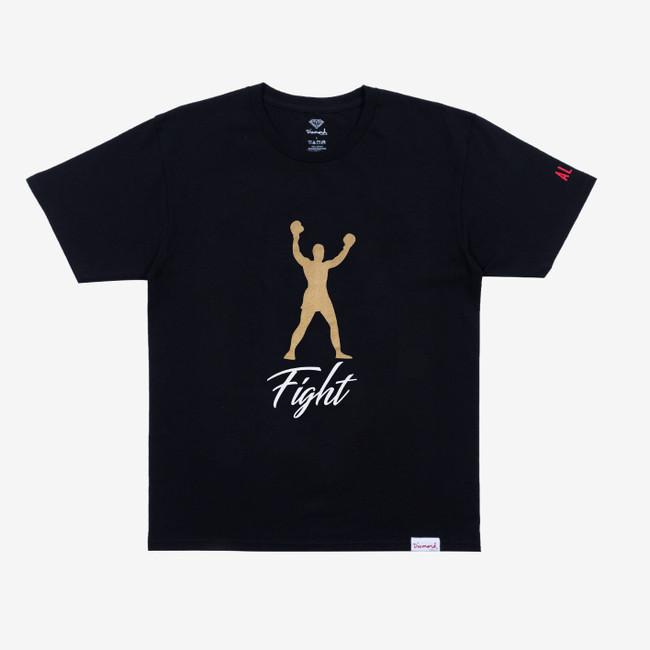 Diamond - Muhammad Ali Fight Tee - Black