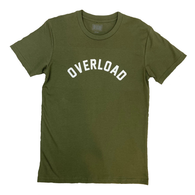 Overload - T-Shirt - Arched - Army