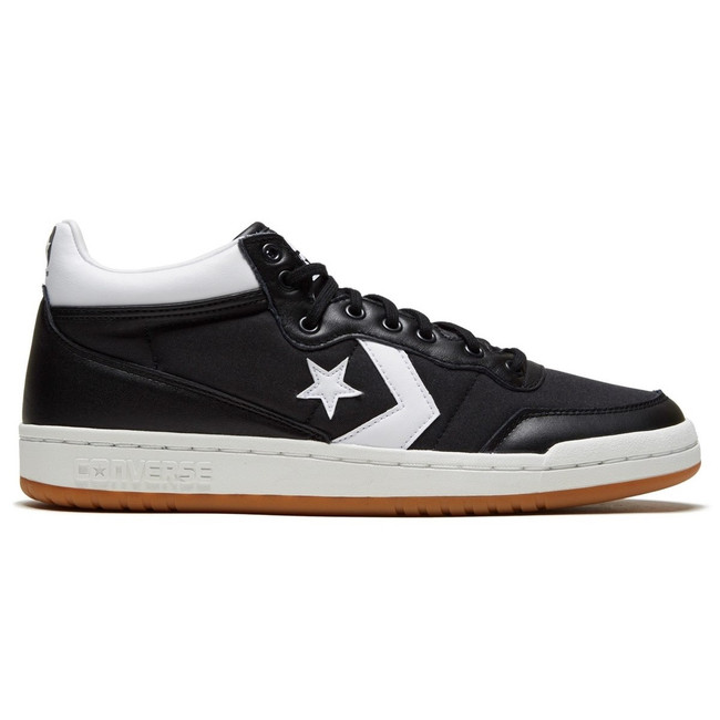 Converse - Fast Break Pro Mid - Black White Gum