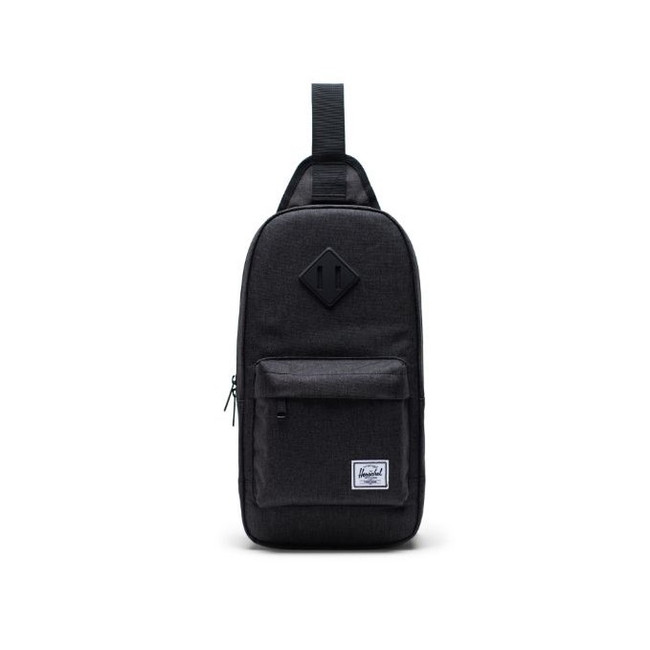 Herschel - Heritage Shoulder Bag - Black Crosshatch