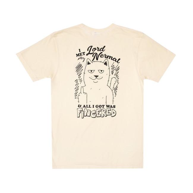 Rip N Dip - T-Shirt - Fingered - Natural