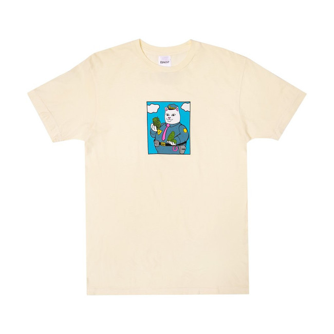 Rip n Dip - T-Shirt - Confiscated - Natural