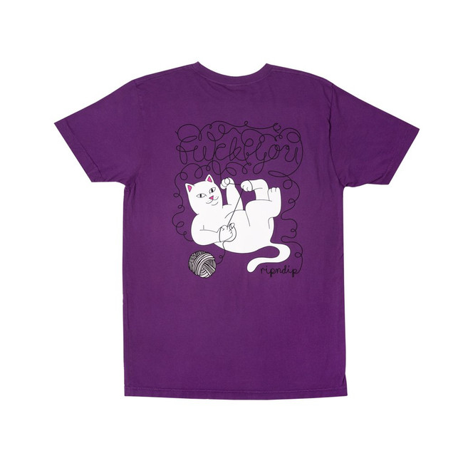 Rip N Dip - T-Shirt - Tangled - Purple