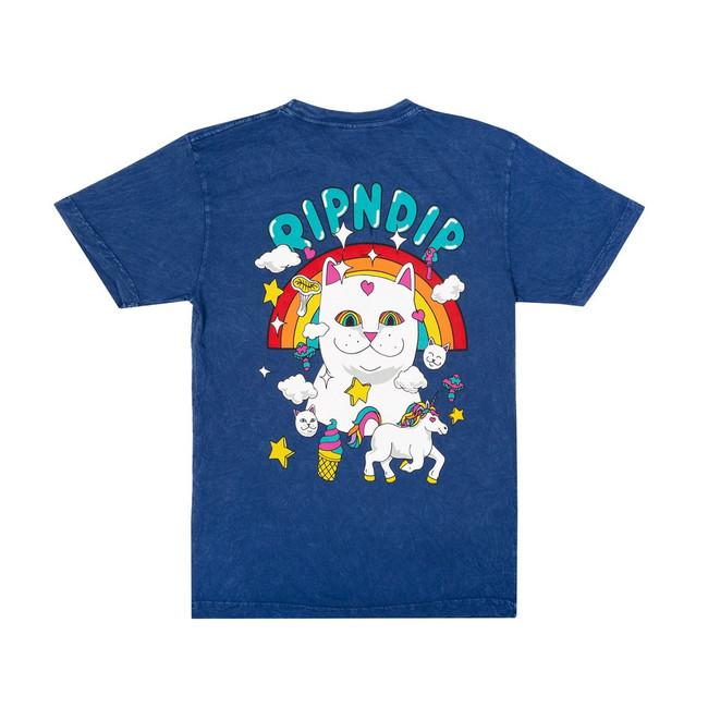 Rip N Dip - T-Shirt - Nermland - Blue Mineral Wash