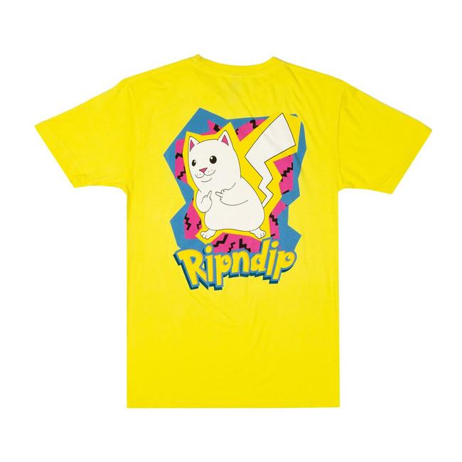 Rip N Dip - T-Shirt - Catch Em All - Yellow