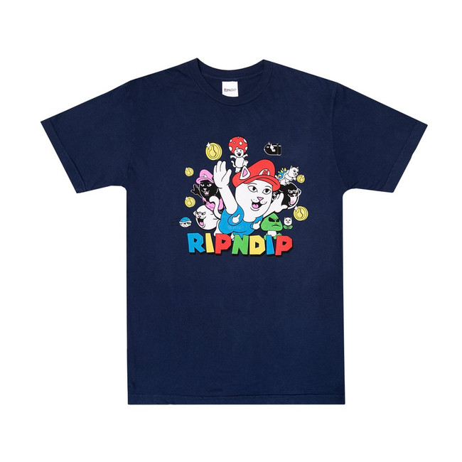 Rip N Dip - T-Shirt - Nermio - Navy
