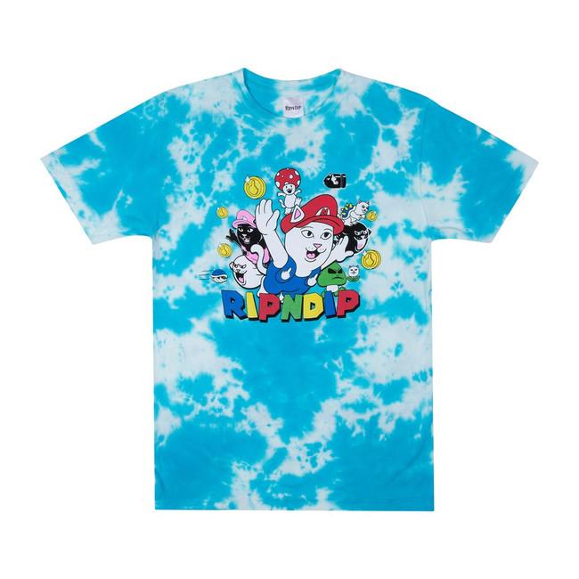 Rip N Dip - T-Shirt - Nermio - Blue Cloud Wash