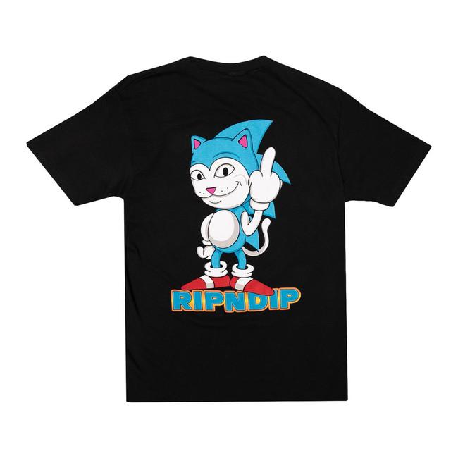 Rip N Dip - T-Shirt - Nermhog - Black