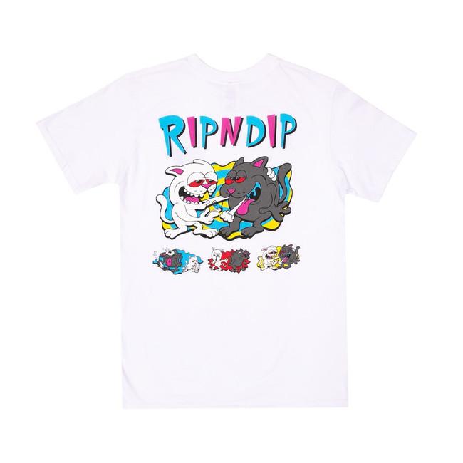 Rip N Dip - T-Shirt - Hash Bros - White